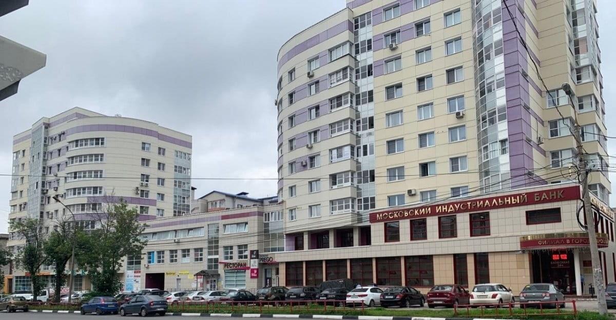 Вид на здание компании Волжская недвижимость